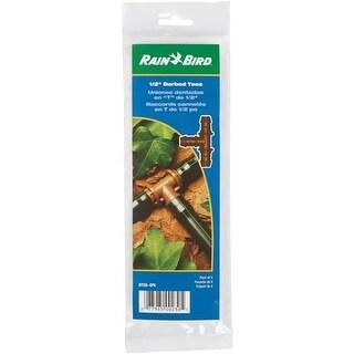 "Rain Bird Corp. Consumer 4-Pk 1/2"" Barbed Tee BT50/4PKS Unit: PKG"
