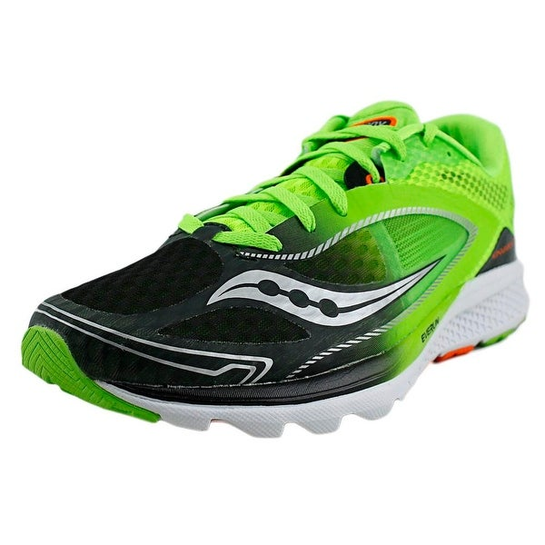 9300df4acc3d Shop Saucony Kinvara 7 Men Round Toe Synthetic Green Running Shoe ...
