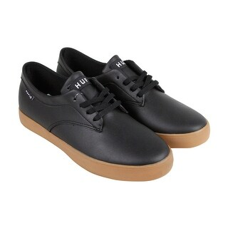 HUF Sutter Mens Black Synthetic Lace Up Sneakers Shoes