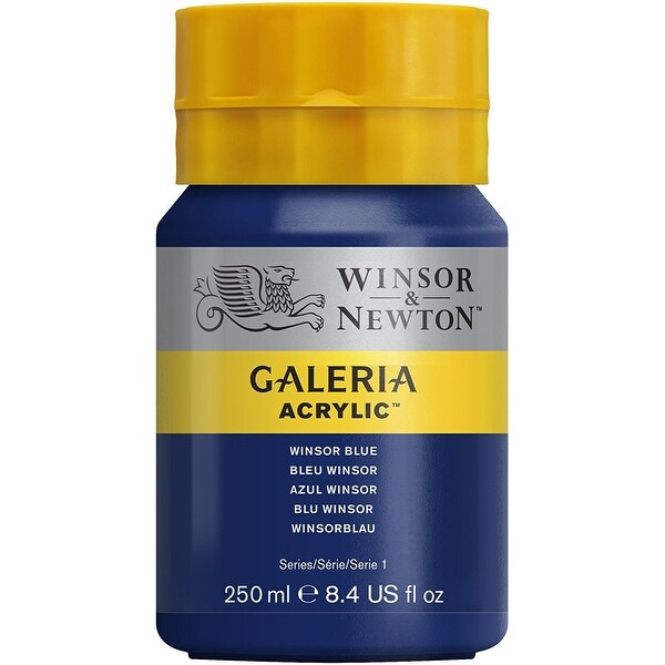 Winsor & Newton - Galeria Acrylic - 250ml Squeeze Bottle - Winsor Blue