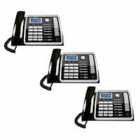 RCA 25260+ (2) 25260 2-Line Corded Telephone W/ Blue Backlit LCD Display