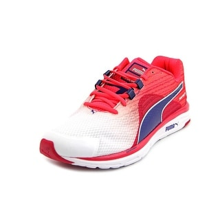 Puma Faas 500 v4 Women  Round Toe Synthetic Pink Running Shoe