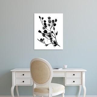 Easy Art Prints Melissa Wang's 'Expressive Floral I' Premium Canvas Art