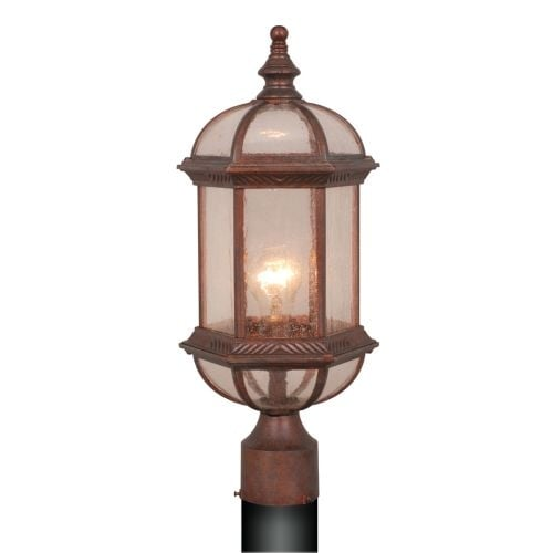 Vaxcel Lighting OP39785 Chateau 1 Light Outdoor Post Light
