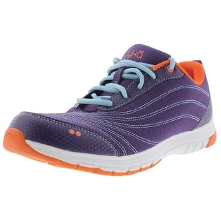 Ryka Womens Cont Inuum Memory Foam Contrast Trim Running Shoes - 7.5 wide (c,d,w)