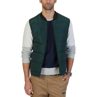 Nautica Mens Outerwear Vest Down Quilted