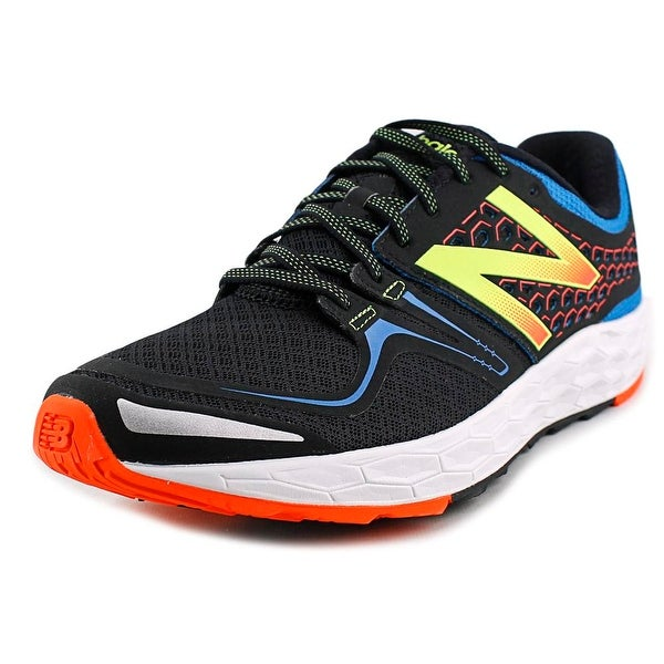 New Balance VNG Men 2E Round Toe Synthetic Black Running Shoe