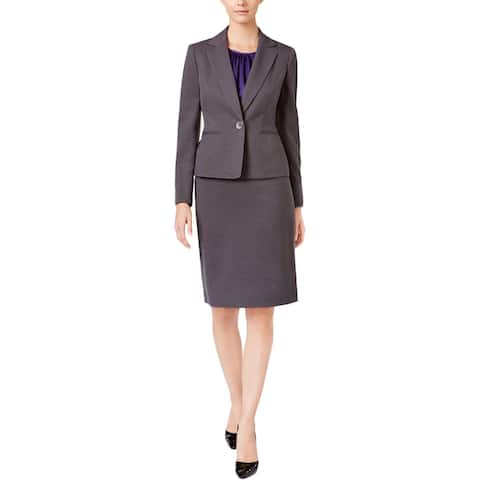 Le Suit Womens Skirt Suit Professional Office Wear
