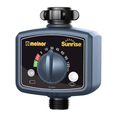 Melnor 13012 Sunrise Water Timer, Black
