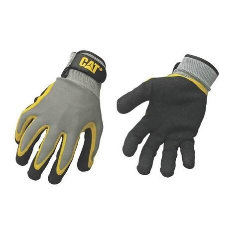 CAT CAT017415L Coated Palm Gloves, Large