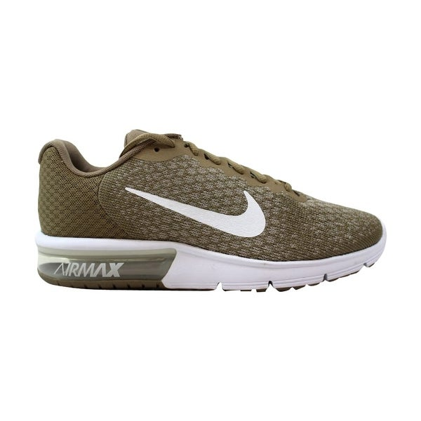 b1855d3149f58 Shop Nike Air Max Sequent 2 Khaki White-String Men s 852461-200 Size ...