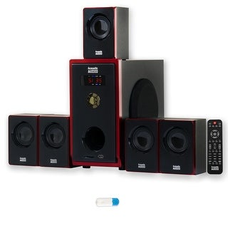 Acoustic Audio AA5103 Home Theater 5.1 Speaker System with USB Bluetooth