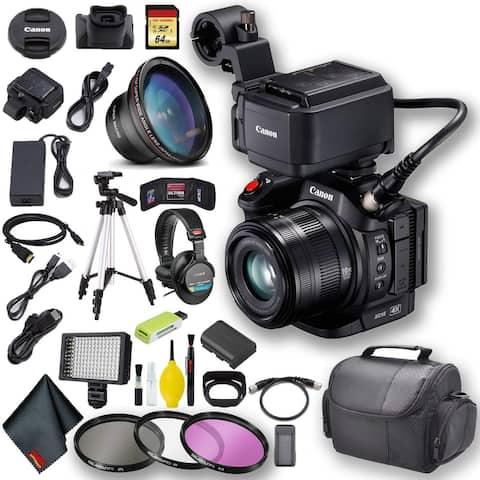 Canon XC15 4K Professional Camcorder + 64GB Memory Master Kit