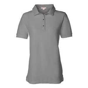 FeatherLite Women's Pique Sport Shirt - Cool Grey - 3XL