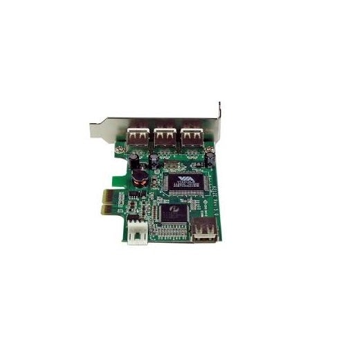 Startech Pexusb4dp 4 Port Pci Express Low Profile High Speed Usb Card