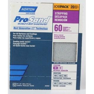 Norton 50610-038 ProSand Sandpaper, 60 Grit