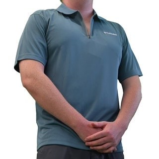 Columbia Men's Tidal Cove Polo Shirt Sizes Small-XL Omni Freeze Cooling, Wicking - Large