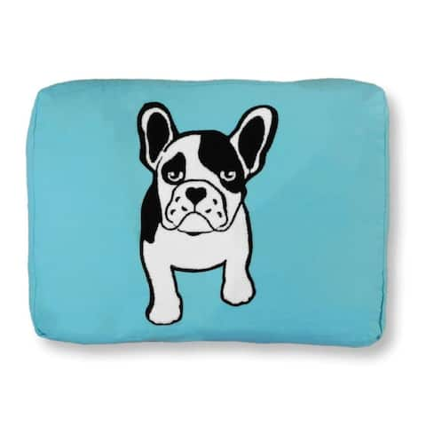 """Frenchie 36"""" x 27"""" Cotton Pet Bed - Large"""
