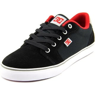 DC Shoes Anvil Youth Round Toe Canvas Skate Shoe