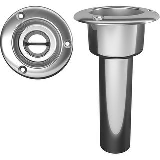 Mate Series Stainless Steel 0 Rod Cup Holder Open Round Top