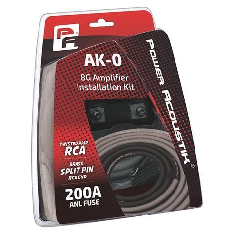 Power acoustik ak-0 power acoustik 0 gauge amp kit anl fuse