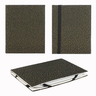 """JAVOedge Embossed Golden Ivy 6"""" Universal eReader Book Case for the Nook Touch, Glowlight, Kobo, Touch, Kindle (Black)"""