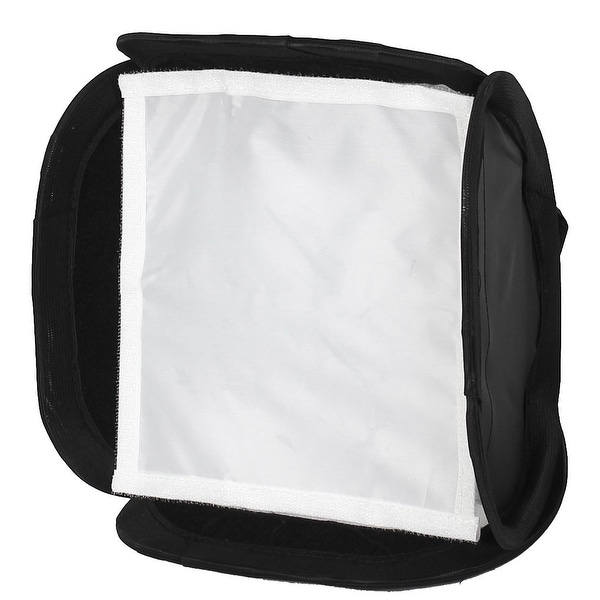 Unique Bargains Portable 23x23cm Softbox for DSLR Camera Photo Flash Light