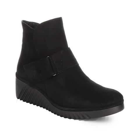 Fly London Labe Leather Bootie