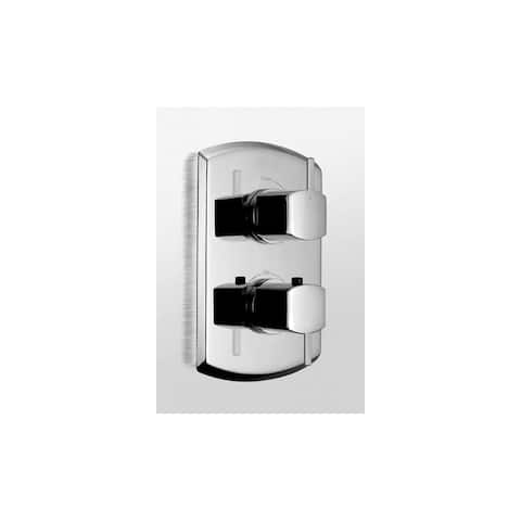 Toto TS960C1 ADA Compliant Thermostatic Mixing Valve Trim with Single Volume Control and Lever Style Handles from the Soirée