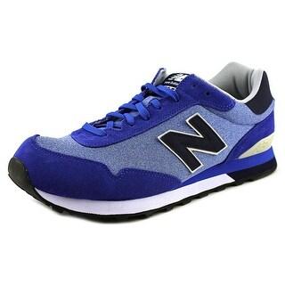 New Balance ML515 Men 2E Round Toe Synthetic Blue Tennis Shoe