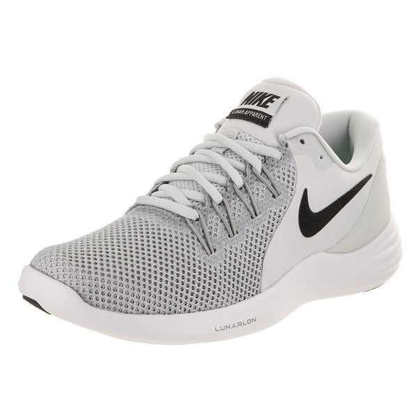 ... Women s Athletic Shoes. Nike Women  x27 s Lunar Apparent Pure  Platinum Black Wolf Grey Running babe54f47