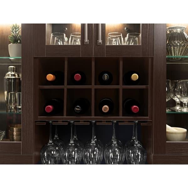 Bar Wall Wine Rack Cabinet