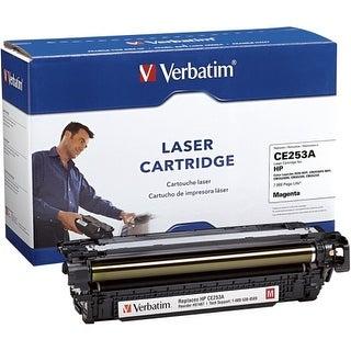 """Verbatim 97487 Verbatim HP CE253A Magenta Remanufactured Laser Toner Cartridge - Magenta - Laser"""