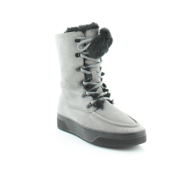 Michael Kors Juno Lace Up Women's Boots Storm