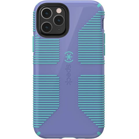 Speck CandyShell Grip Case for iPhone 11 Pro - Wisteria Purple/Mykonos Blue