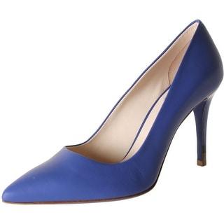 Fendi Womens Decollete Leather Pointed Toe Stilettos