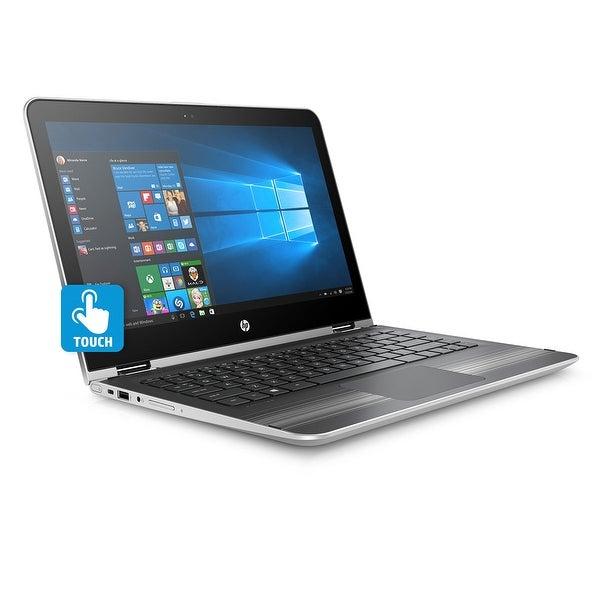 Refurbished - HP Pavilion x360 13t 13.3 Touch Laptop Core i5-7200u 2.5GHz 8GB 128GB W10 Silver