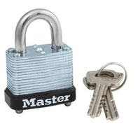 Master Lock 105D Mechanism Padlock, Warded, 1-1/8""