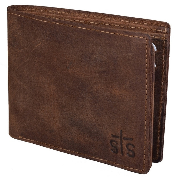 StS Ranchwear Western Wallet Mens Foreman Bi-fold Brown - One size