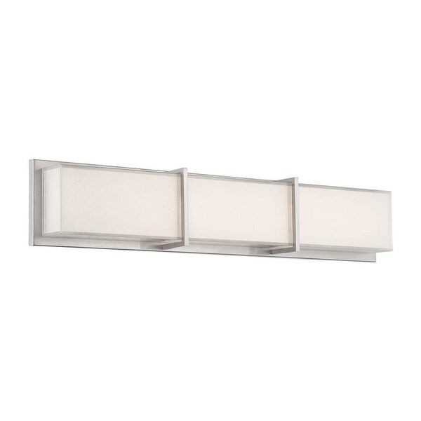 "Modern Forms WS-6826 Bahn 26"" Width LED Dimming Bath Bar - Brushed nickel - n/a"