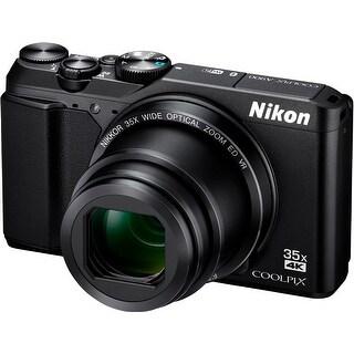 Nikon Coolpix A900 Digital Camera (Black) with 32GB Card + Kit