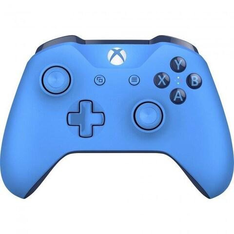 Microsoft NXXONE-025 3.5 mm Xbox One Wireless Controller, Blue BT