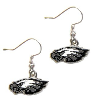 Philadelphia Eagles Dangle Logo Earring Set Charm Gift NFL