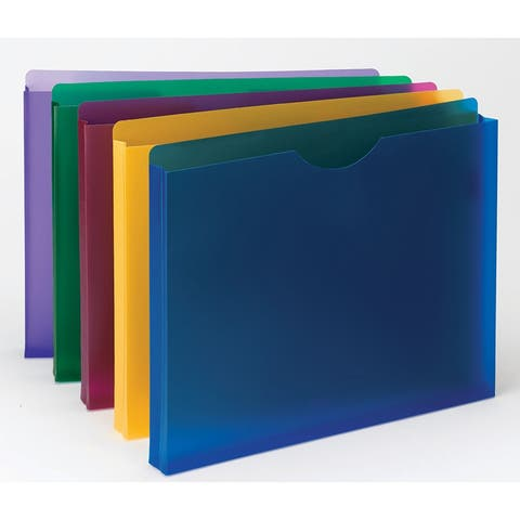 Smead (2 pk) smead poly expanding file 89610bn