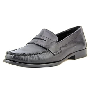 Cole Haan Alexa Penny Moc II Women Round Toe Leather Black Loafer