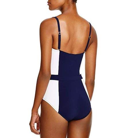 Seafolly Women's Inka Rib Multi Strap Hipster Bikini Bottom Swimsuit, Black, 8 US