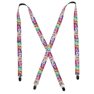 Buckle Down Kids' Elastic My Little Pony Suspenders - Multi-Color - One Size