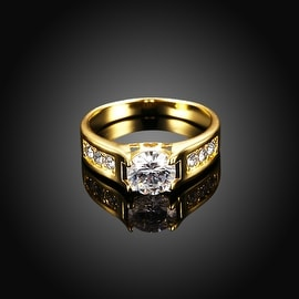 Gold Plated Classic Wedding Ring