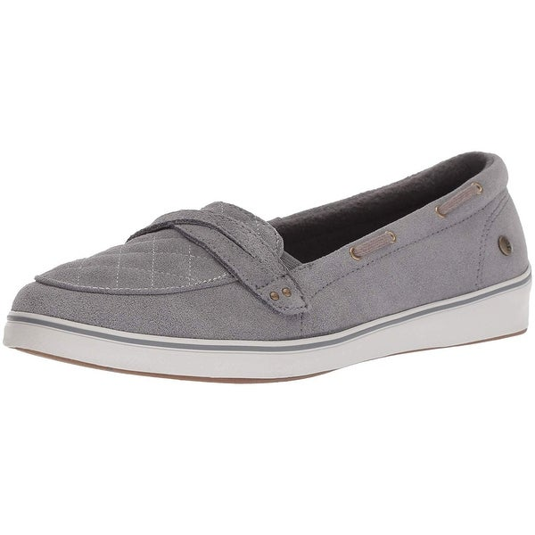 bf5c73c07b Shop Grasshoppers Women's Windham Suede Boat Shoe - Free Shipping On ...