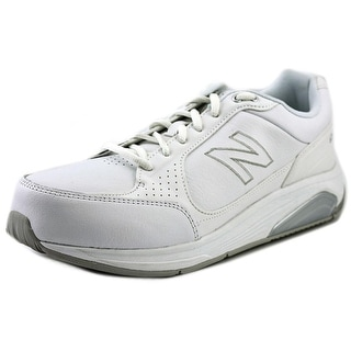 New Balance WW928 Women Round Toe Leather White Walking Shoe